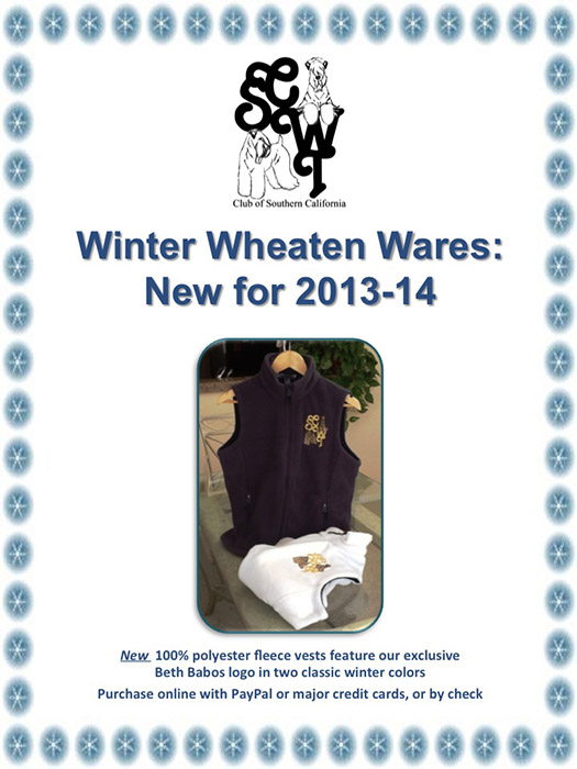 2013-2014 Winter Wheaten Wares