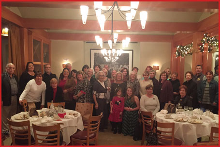 Soft Coated Wheaten Terrier Club of Southern California Holiday Luncheon 2015
