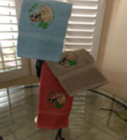 Wheaten hand towels for sale