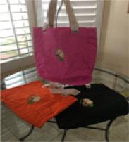 Wheaten tote bag for sale